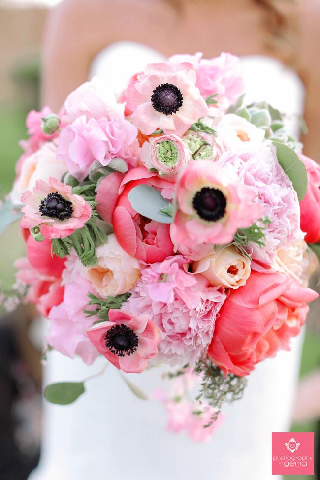Spring Peony Bouquet