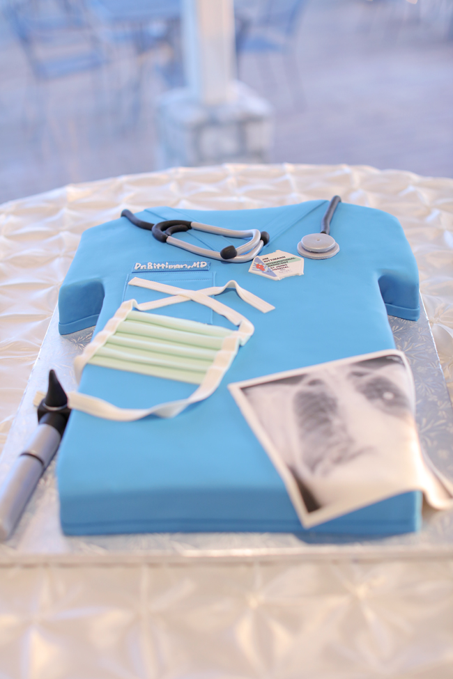 Doctor Cake for Wedding